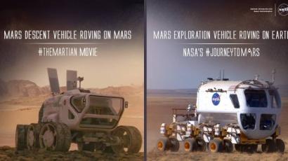 Mentőexpedíció: a NASA képeken mutatta meg a különbséget a film és a valóság között