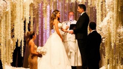 Mesébe illő volt Sofía Vergara esküvője – képek, videók