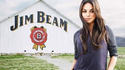 Mila Kunis lesz a Jim Beam nemzetközi arca