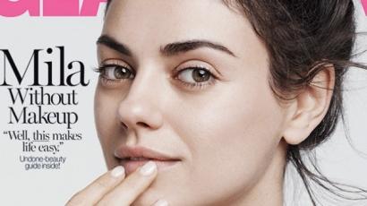 Mila Kunis megmutatta festetlenül is gyönyörű arcát