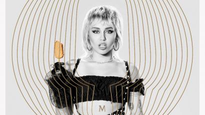Miley Cyrus a Magnum arca lett