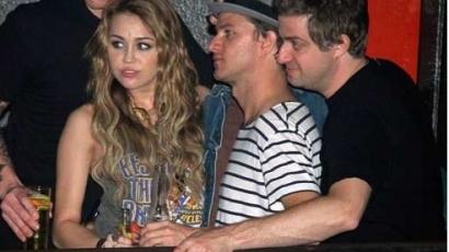 Miley Cyrus alkoholt ivott Madridban