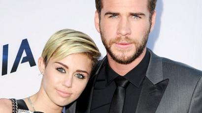 Miley és Liam ismét együtt a vörös szőnyegen