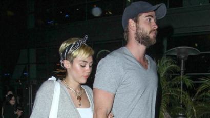 Miley Cyrus és Liam Hemsworth elválaszthatatlanok