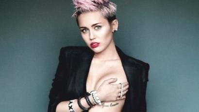 Miley Cyrus nyaka megsérült