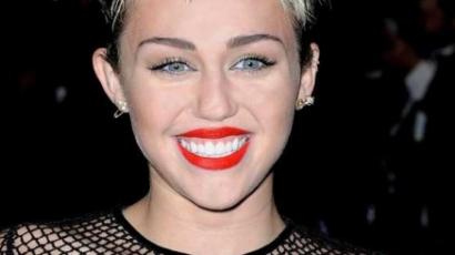 Miley Cyrus szellemet látott