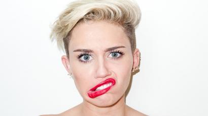 Miley Cyrus viccet csinált a terhességből