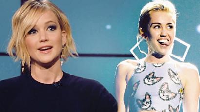 Miley előtt rókázott Jennifer Lawrence
