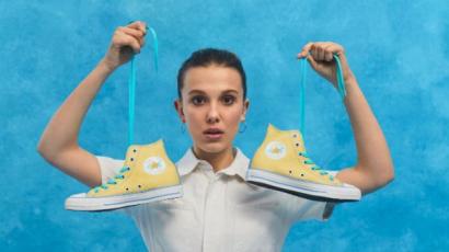 Millie Bobby Brown cipőket tervez!