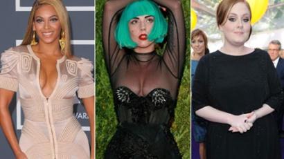 Minden idők legjobb női popsztárjai