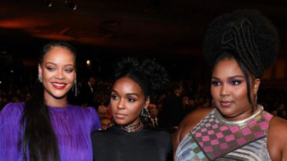 NAACP Image Awards 2020: Rihanna lila fodros ruhában tündökölt