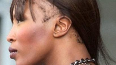 Naomi Campbell kopaszodik