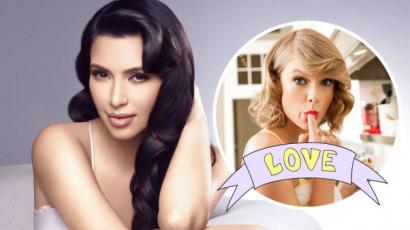Nehéz elhinni, de Kim Kardashian egykor Taylor Swift legnagyobb rajongója volt! Íme a bizonyíték!
