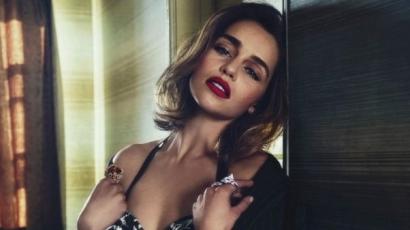 Nem ismerik fel rajongói a világ legszexibb nőjének választott Emilia Clarke-ot