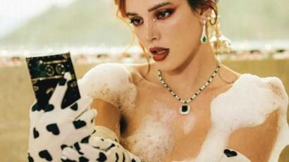 Nem sokat bíz a képzeletre legújabb videójában Bella Thorne