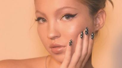 Nézd meg, Kate Moss kislányából micsoda modell lett!