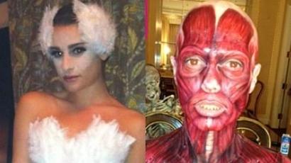 Elképesztő jelmezekkel sokkoltak a sztárok Halloweenkor