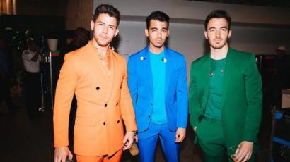 Nick Jonas elárulta, miért tesói kísérték el a Jumanji: The Next Level premierjére