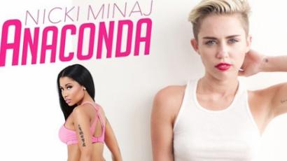 Nicki Minaj legyőzte Miley Cyrust