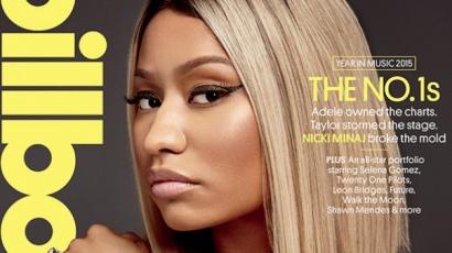 Nicki Minaj topless pózol a Billboard magazin címlapján