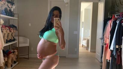 Nikki Bella megmutatta hatalmas pocakját