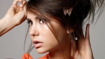 Nina Dobrev frizurát újított