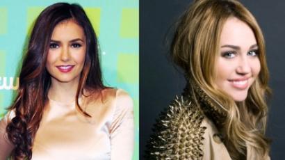 Nina Dobrev hatalmas Miley Cyrus-rajongó
