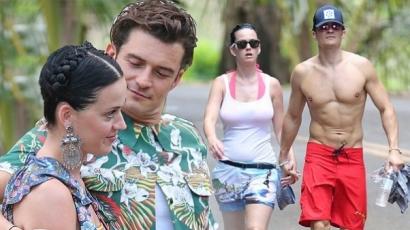 Nincs több titkolózás: Orlando Bloom és Katy Perry egy pár!