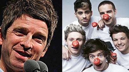 Noel Gallagher beszólt a One Directionnek