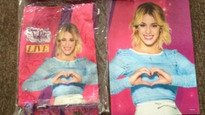 Nyerd meg az exkluzív Violetta Live ajándékcsomagot!