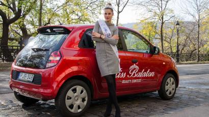 Nyereményautója motiválta a Miss Balaton győztesét