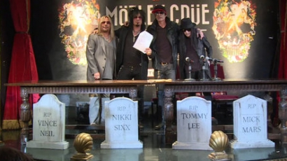 Vége a Mötley Crüe-nek