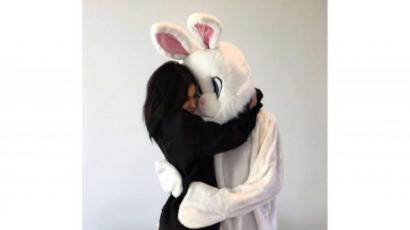 Nyusziként ünnepelte a húsvétot Kanye West és Kim Kardashian