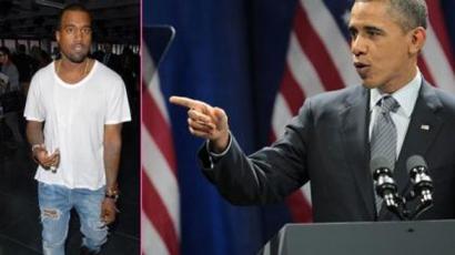Obama szerint Kanye West egy barom