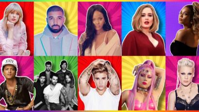 Ők az évtized legjobb előadói a Billboard szerint