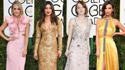 Ők voltak a Golden Globe-gála legjobban öltözött sztárjai
