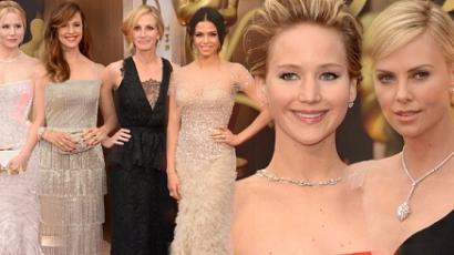 Ők voltak az Oscar-gála legszebb sztárjai