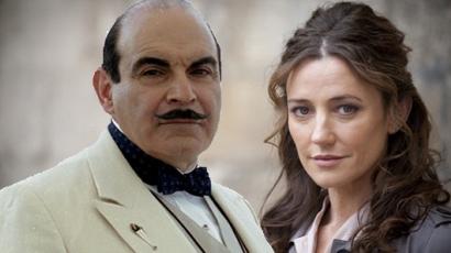 Orla Brady élvezte Poirot kalandjait