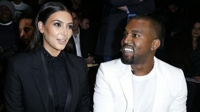 Őrült nevet akar adni gyerekének Kanye West