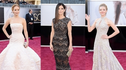 Oscar 2013: a legszebb ruhaköltemények