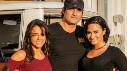 Összeállt egy klip erejéig Demi Lovato és Michelle Rodriguez