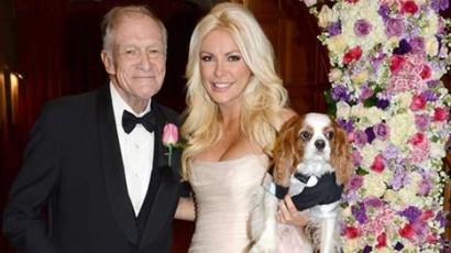 Összeházasodott Hugh Hefner és Crystal Harris