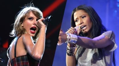 Összeszólalkozott Nicki Minaj és Taylor Swift