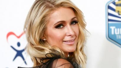 Paris Hilton gondolni sem tud a randizásra