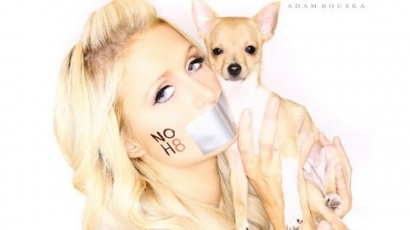 Paris Hilton is csatlakozott a NOH8-hez