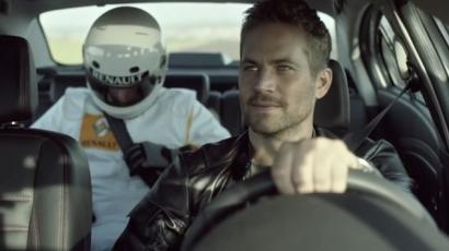 Paul Walker autót reklámoz