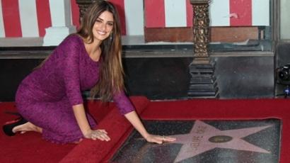 Penélope Cruz megkapta csillagját