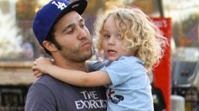 Pete Wentz imád apa lenni