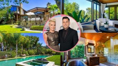 Piacra dobta malibui luxusvilláját Pink és Carey Hart – fotók