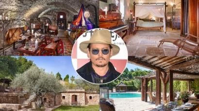 Piacra került Johnny Depp otthona
